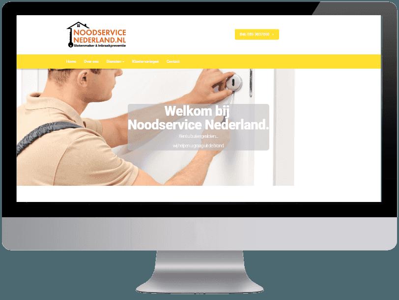 Noodservice nederland webdesign