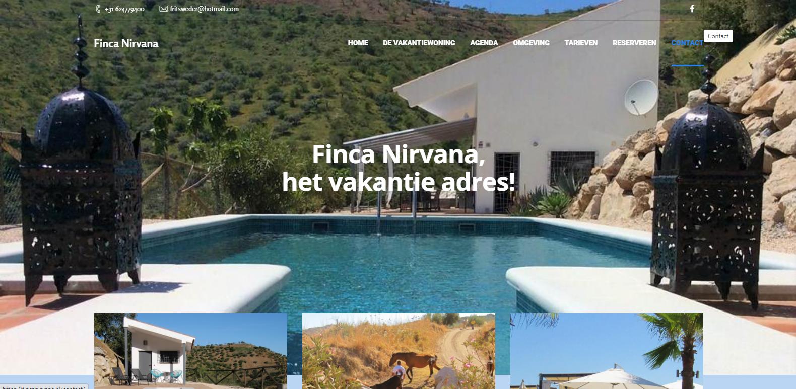 Fincanirvana webdesign